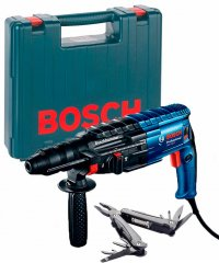 Перфоратор Bosch GBH 240 F + Swiss Peak Multitool