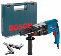 Перфоратор Bosch GBH 2-28 F + Swiss Peak Multitool
