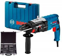 Перфоратор Bosch GBH 2-28 + набор SDS-plus Mixed Set