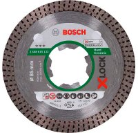 Алмазный диск Bosch X-Lock Best HardCeramic 85x22,23x1,6x7 мм