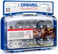 Набор насадок Dremel для резки EZ SpeedClic, 11 шт (SC 690)