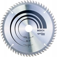Диск по дереву Bosch Optiline Wood 235×2,8×30, 60 ATB