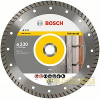 Алмазный круг Bosch Standard for Universal Turbo, 115 мм