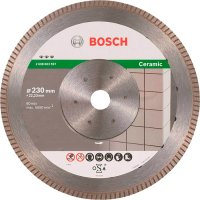 Алмазный круг Bosch Best for Ceramic Extraclean Turbo,230 мм