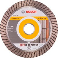 Алмазный круг Bosch Best for Universal Turbo, 125 мм