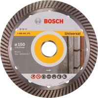 Алмазный круг Bosch Expert for Universal Turbo, 150 мм