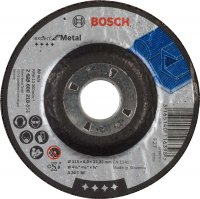 Круг зачистной Bosch Expert for Metal 115×6 мм