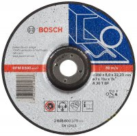 Круг зачистной Bosch Expert for Metal 180×8 мм
