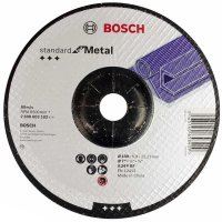 Круг зачистной Bosch Standard for Metal 180×6 мм