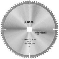 Пильный диск Bosch Multimaterial Eco 305×3,2×30 мм, 80 зубов