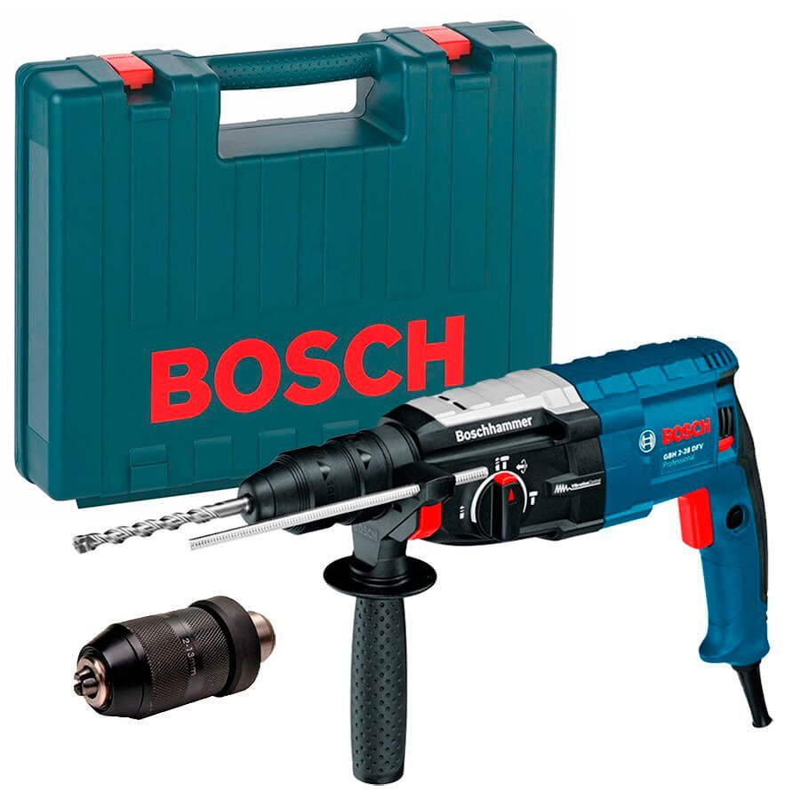 Перфораторы Bosch SDS-Plus - Перфоратор Bosch GBH 2-28 DFV