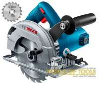 Ручная циркулярная пила Bosch GKS 600 + диск Eco for Wood