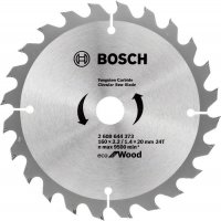 Пильный диск Bosch Eco for Wood 160x2,2x20-24T