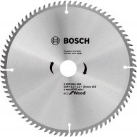 Пильный диск Bosch Eco for Wood 254x3,0x30-80T