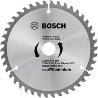 Пильный диск Bosch Eco for Aluminium 150x2,2x20-42T