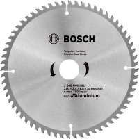 Пильный диск Bosch Eco for Aluminium 210x2,6x30-64T