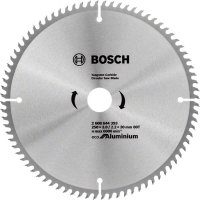 Пильный диск Bosch Eco for Aluminium 250x3x30-80T