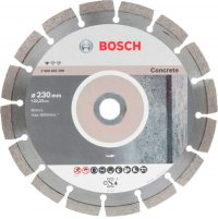 Алмазный круг Bosch Standart for Concrete, 230x22,23x2,3x10