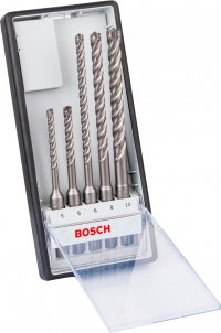 Набор буров Bosch Robust Line SDS-Plus-7X, 5 шт